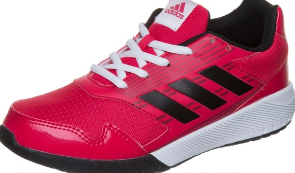 NIB Kids Adidas Altarun K Pink Running Shoe
